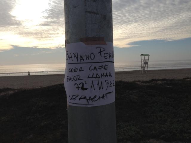 Curioso anuncio..... en La Serena.