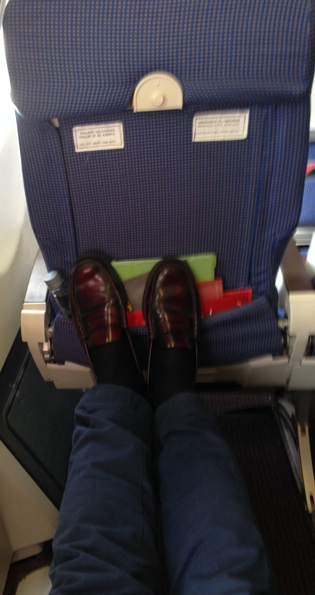 asiento de emergencias estiro piernas, algo es algo